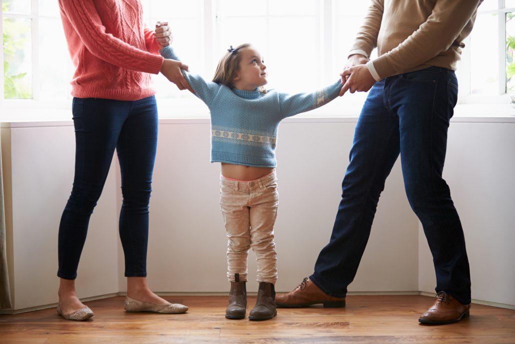 Custody Fight Parents Child